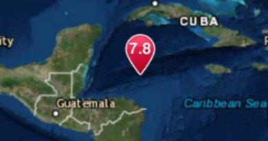 Alerta de tsunami en el mar Caribe tras un potente terremoto de magnitud 7.6