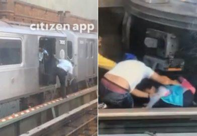 El fuerte mensaje de suicida a su esposa antes de saltar con su hija de 5 años al Subway en El Bronx