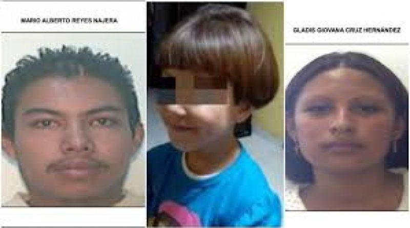 Emiten orden de detención contra los dos presuntos asesinos de niña mexicana