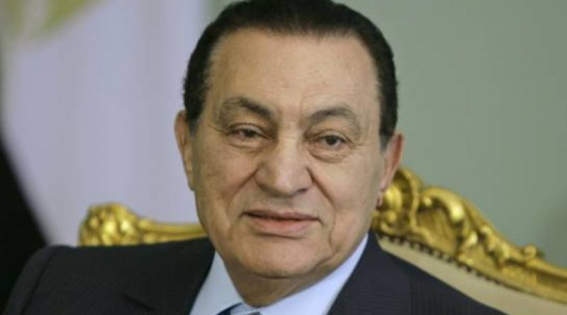 Muere expresidente egipcio Hosni Mubarak