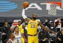 Los Lakers ganan a San Antonio en un partido histórico para LeBron James