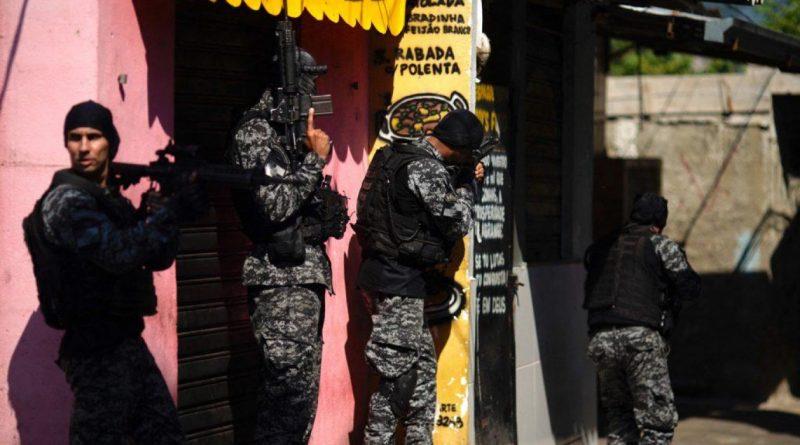 BRASIL: 25 muertos en favela de Río; es la masacre más grande desde 2016