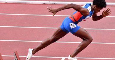 Marileidy Paulino gana primer lugar en los 400 metros en Lausana, Suiza