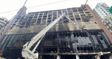 Al menos 46 muertos en el incendio de un edificio en Taiwán